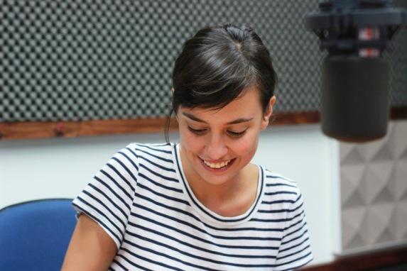 Periodista Valeria Román