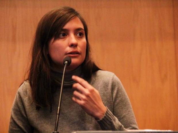Periodista Valeria Roman