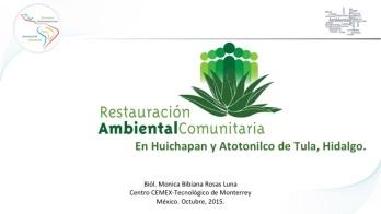 Rest. Ambiental comunitaria_Mónica Rosas