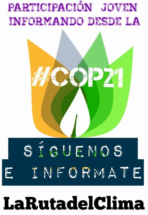 Informando desde COP21 #Juventud