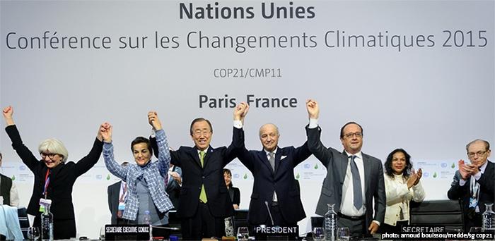 Fotografía: UNFCCC (2015) arnoud bouissou/medde/sg cop21