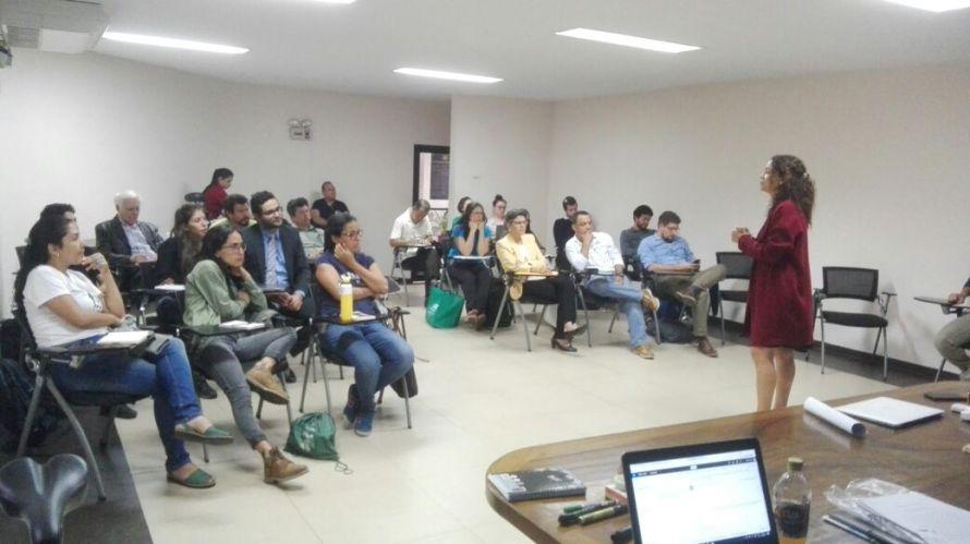 Reunión 5c Sector Biodiversidad. Foto: DCC - Costa Rica