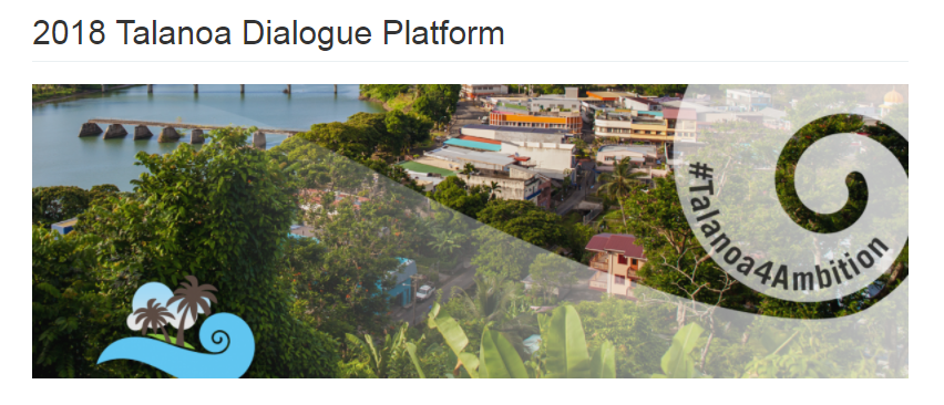 TALANOA Dialogue COP24